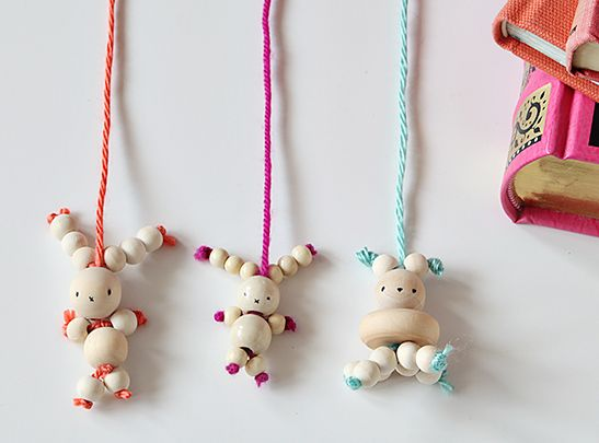 DIY Bunny Bookmarks Easter Craft - but we think it's great any time.