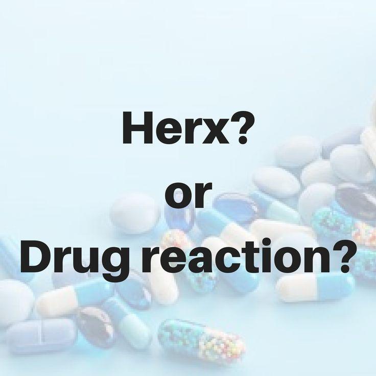 The Jarisch-Herxheimer reaction happens when the Lyme spirochete is being killed off by antibiotics, creating inflammation