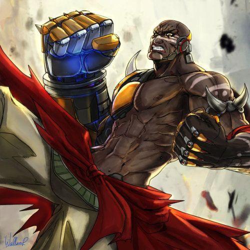 DOOMFIST new hero i love he he is so strong