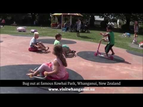 Kowhai Park, Whanganui, New Zealand