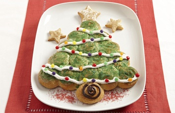 Christmas Tree Crescents RecipeChristmas Food, Christmas Desserts, Christmas Recipes, Christmasdinner Holidayfood, Christmas Cheer, Christmas Xmas, Christmas Treats, Christmas Trees, Christmas Breakfast