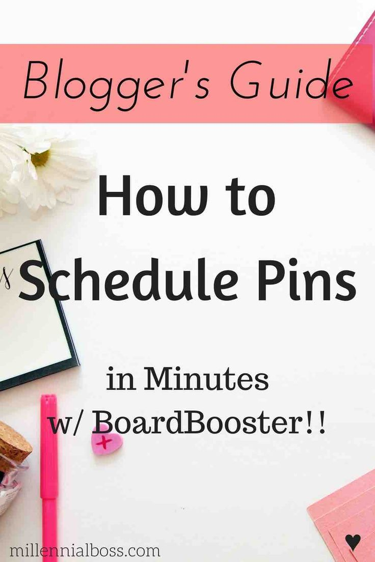 Finally! A post that ACTUALLY explains how to schedule pins with good screenshots! BoardBooster was super confusing but now I totally get it. Already have my pins scheduled. Thank you!!