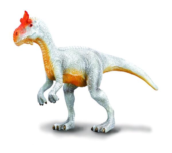 """Cryolophosaurus - El Cryolophosaurus era un dinosaurio carnívoro, y por su curiosa cresta es conocido popularmente como el """"Elvisaurus"""". Alto: 8 cm Largo: 16 cm Figuras de gran calidad y detalle, parecen de verdad!  Edad: a partir de 3 años Marca: Collecta Ref. 30135 Precio: 8.00 € IVA incluido"""