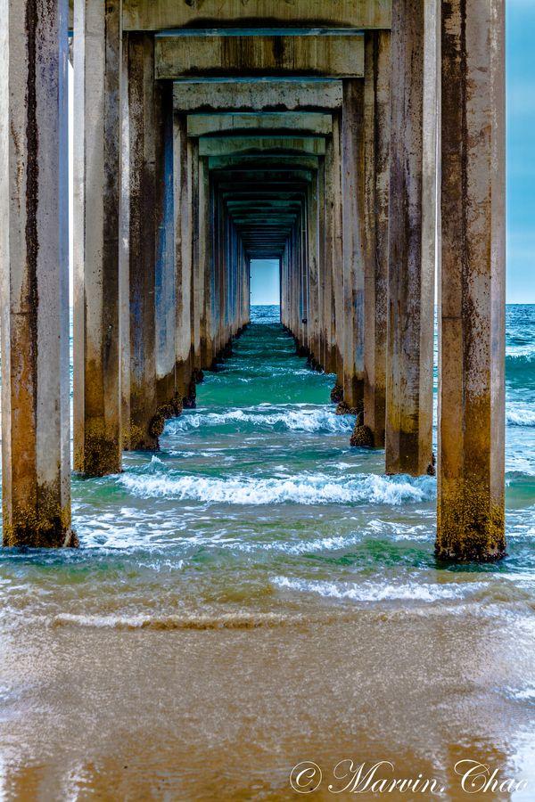 Beach at La Jolla, San Diego