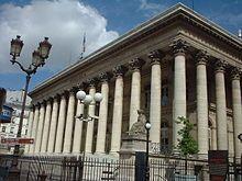 Alexandre-Théodore Brongniart — Bourse