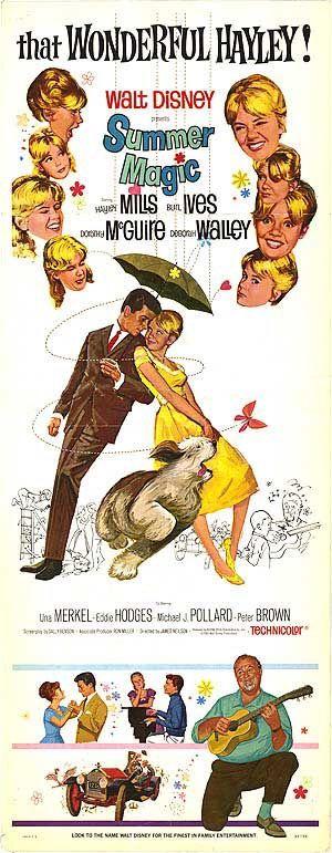 #SummerMagic, movie poster insert, 1963.