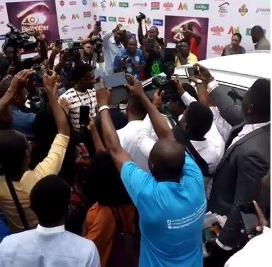 GLOBAL COMMUNITY REPORTERS: PHOTO: BIG BROTHER NAIJA WINNER RECEIVES HIS BRAND...