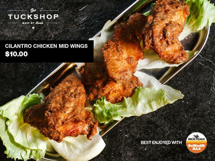 Cilantro Chicken Mid Wings