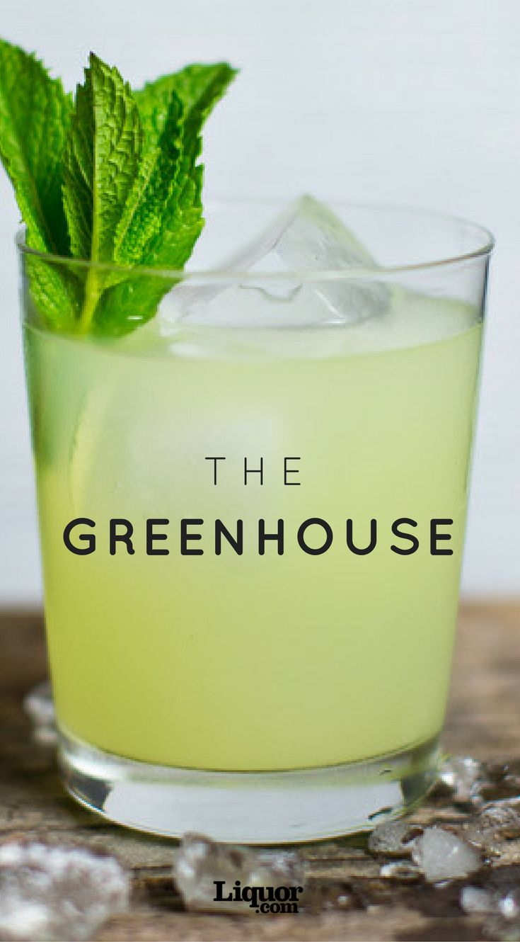 This tequila cocktail made with snap pea shrub and mint is a true culinary masterpiece.
