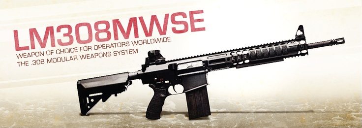 LMT .308 Rifle