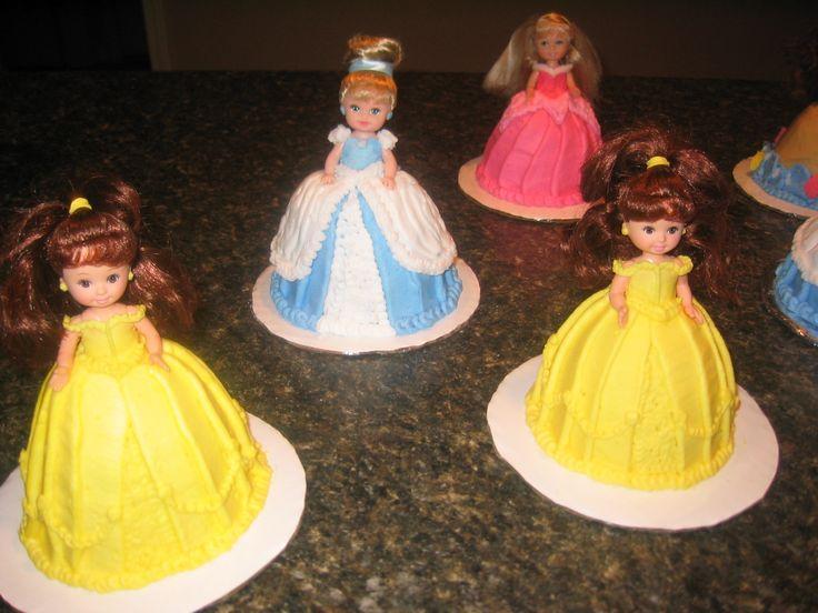 12 Best Princess Doll Cakes Images On Pinterest Princess