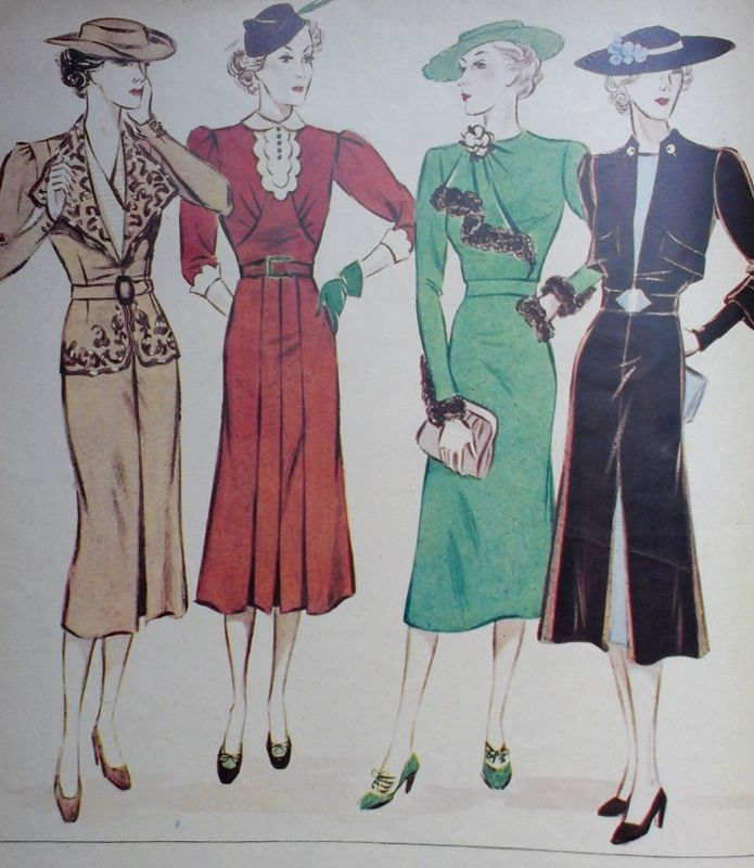 Fashion from the 1930s 20