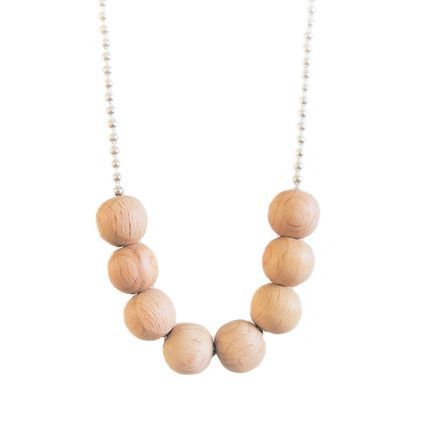 Kahdeksikko, hopea | Weecos #annieeleanoora #woodandsilver #eightsome #kahdeksikko #puutajahopeaa #kaulakoru #necklace