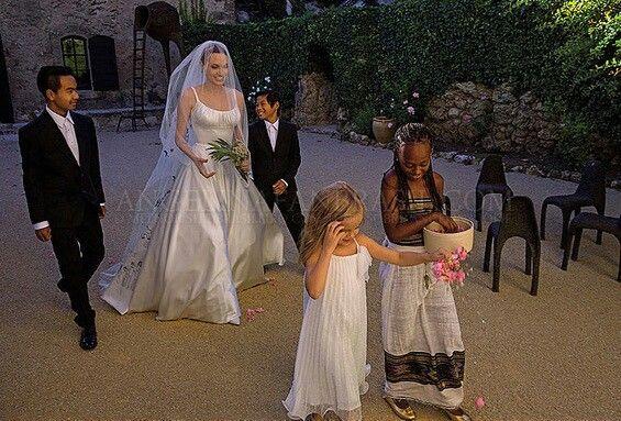 Jolie-Pitt Wedding Gorgeous