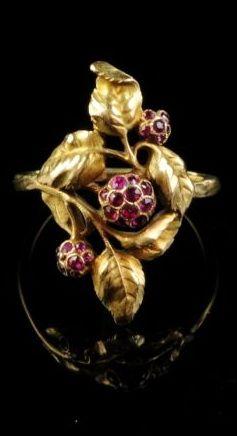 Juwelen - Art Nouveau ring