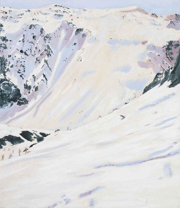 Peter Doig (British, b. 1959), Tour de Charvet, 1995. Oil on canvas, 150 x 130 cm.