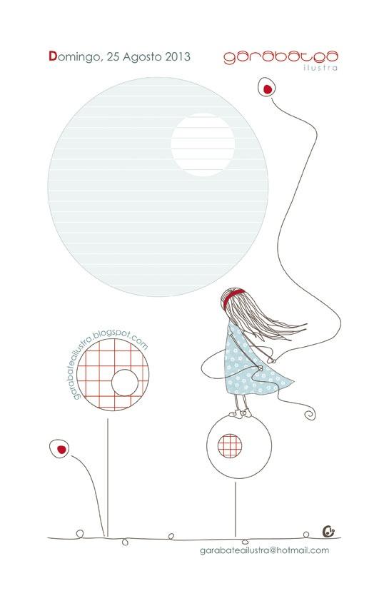 garabatea ilustra: Agenda Pontelo Todo 2013