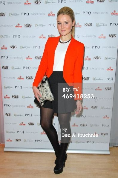 News Photo: Amber Atherton attends the PPQ show at London…