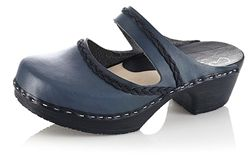 Calou Gaby Blue Clogs now in the sale at Northlight Homestore