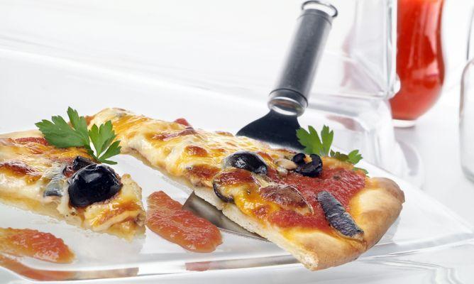 Receta de Pizza mediterránea por Eva Arguiñano