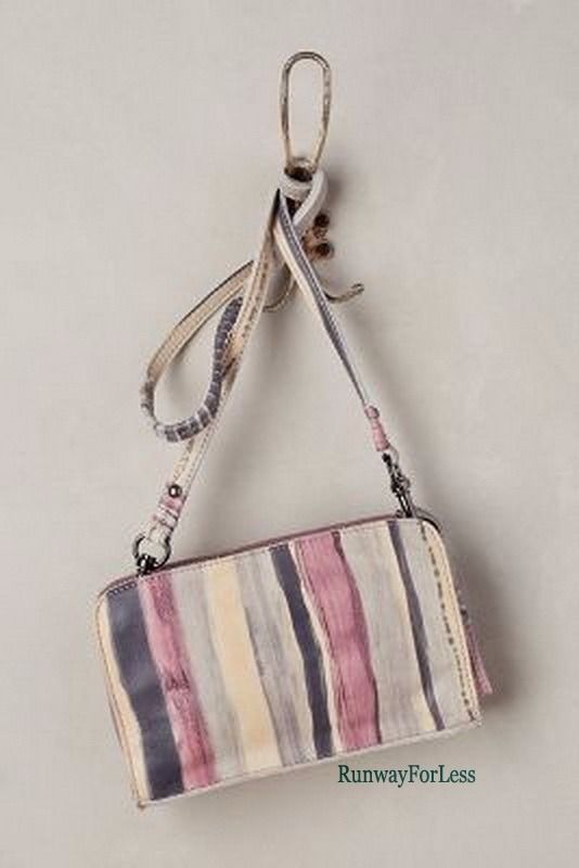 New ANTHROPOLOGIE Liebeskind Andia Purple Blue Leather Crossbody Bag Purse #Anthropologie #MessengerCrossBody #Bag #Purse #Leather #Sale #Small #Cute #Runway