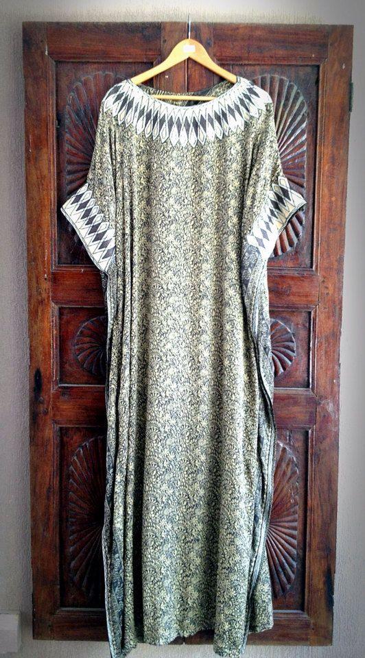 Silk caftan long maxi dress by ArabianThreads on Etsy, $180.00