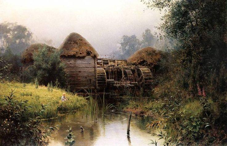 Василий Дмитриевич Поленов Старая мельница. 1880