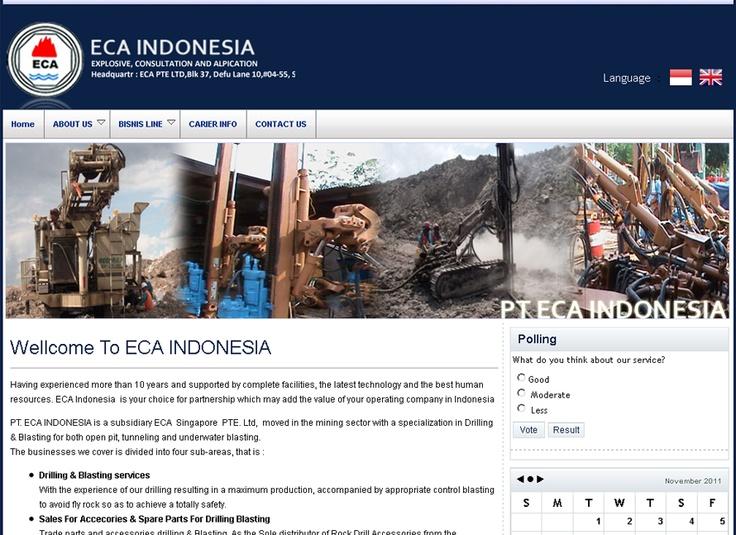 Website PT. ECA