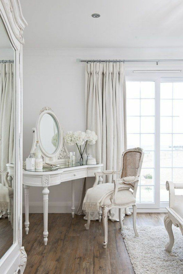 les 25 meilleures id es de la cat gorie chambres shabby chic sur pinterest literie rustique. Black Bedroom Furniture Sets. Home Design Ideas