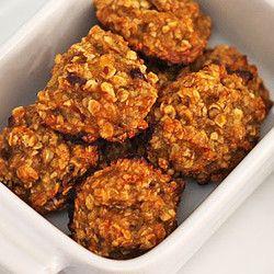 Cookies saudáveis de banana e aveia                                                                                                                                                     Mais