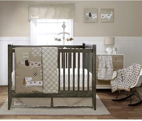 Puppy Play Baby Crib Bedding By Migi