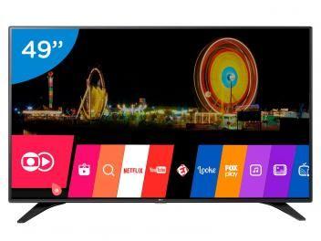 "Smart TV LED 49"" LG Full HD 49LH6000 WebOs - Conversor Digital Wi-Fi 3 HDMI 2 USB"