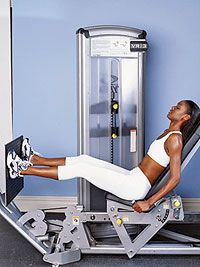 Make yourself a regular on this equipment and you'll speed up your metabolism while sculpting sexy muscles. - Fitnessmagazine.com