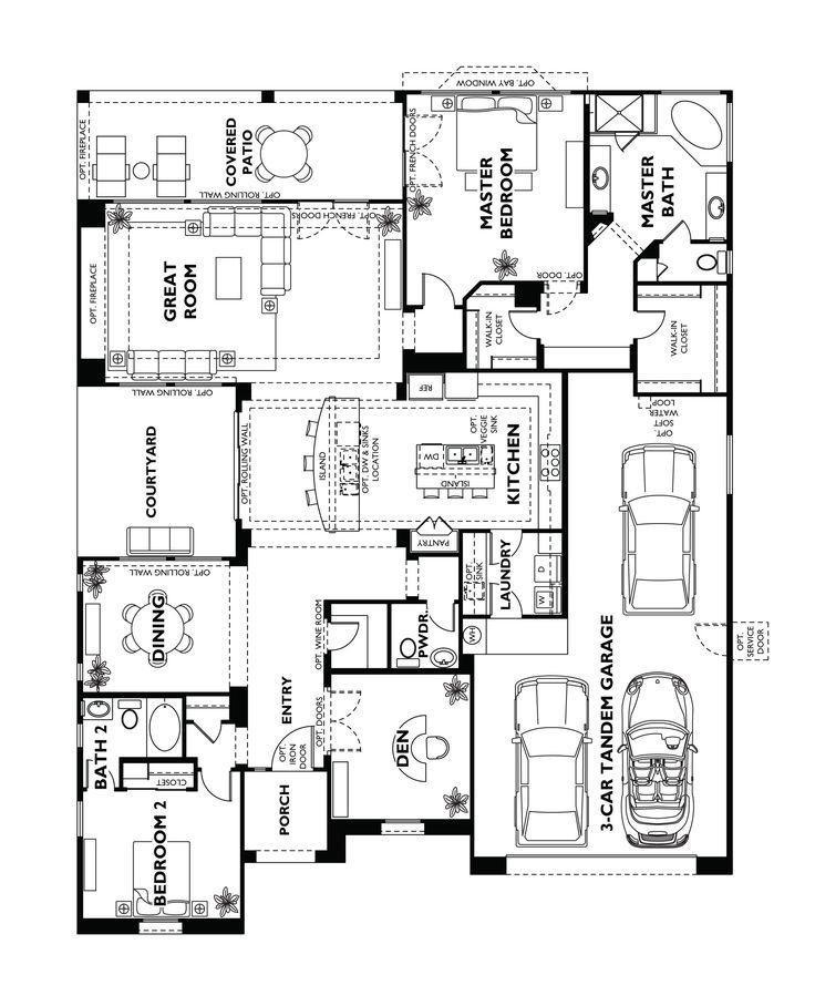 Trilogy at Vistancia Tarragona Floor Plan model home