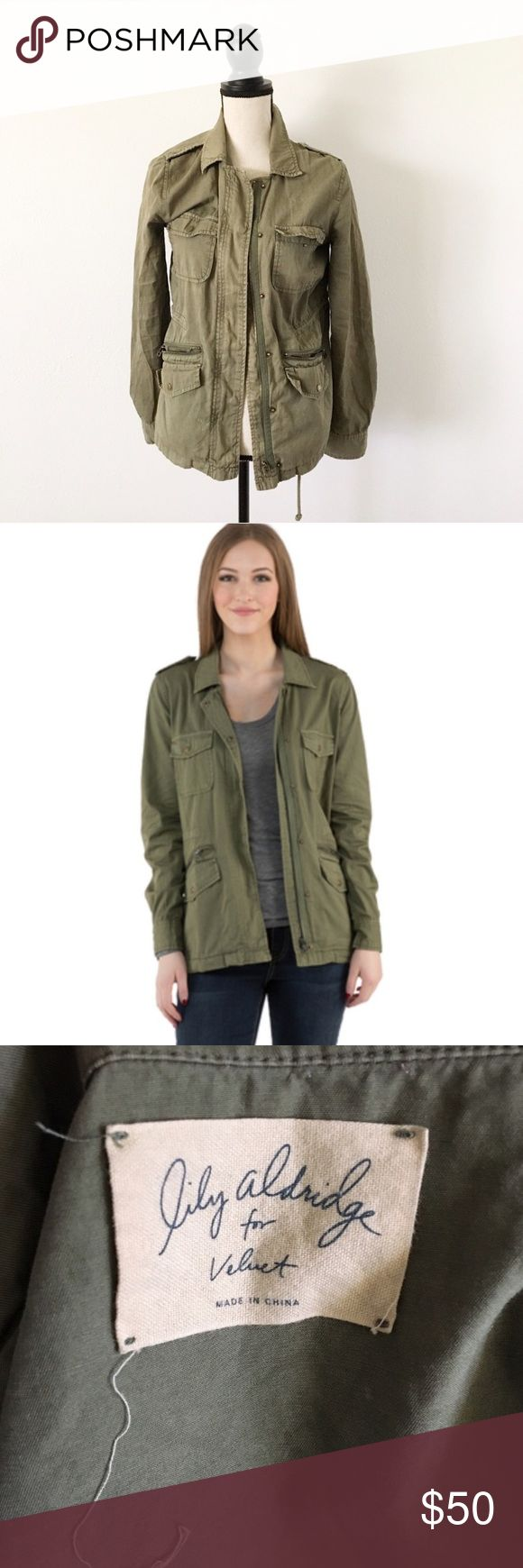 lily alridge for velvet army jacket sold out everywhere! really cute, super awesome jacket. pre-loved, still has lots of life left.25% off of bundles! Nordstrom Jackets & Coats Utility Jackets