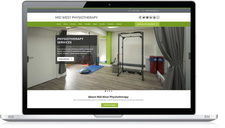 Midwest Physiotherapy is a private chartered practice who pride themselves on deliveringtop-quality patient careusing the best evidence-based treatments. In 2016 Midwest Physio moved to a new modern premises in Castletroy Limerick & with this move came the need to create a fresh new mobile...