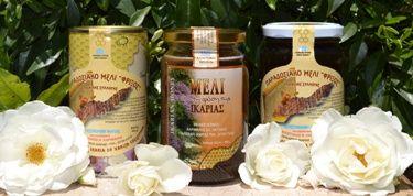Honey from the Beautiful Island of Ikaria