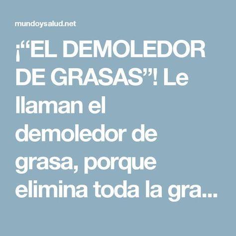 """¡""""EL DEMOLEDOR DE GRASAS""""! Le llaman el demoledor de grasa, porque elimina toda la grasa abdominal en tan solo 7 días. Yo estoy impactada con los resultados."""