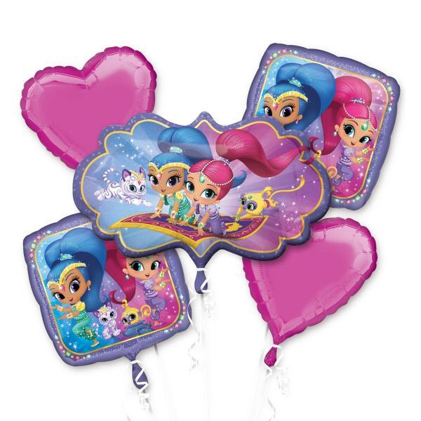 FAST SHIP Shimmer and Shine Birthday Balloons, Shimmer and Shine Party Decorations, Shimmer and Shine Party Supplies by PartysuppliesDesign on Etsy https://www.etsy.com/listing/491897346/fast-ship-shimmer-and-shine-birthday