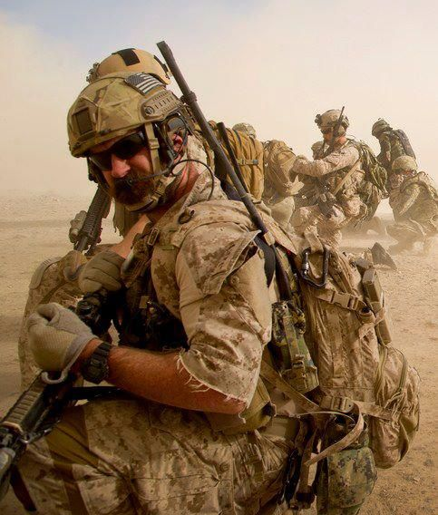 Brothers in arms... U.S. NAVY SEALS