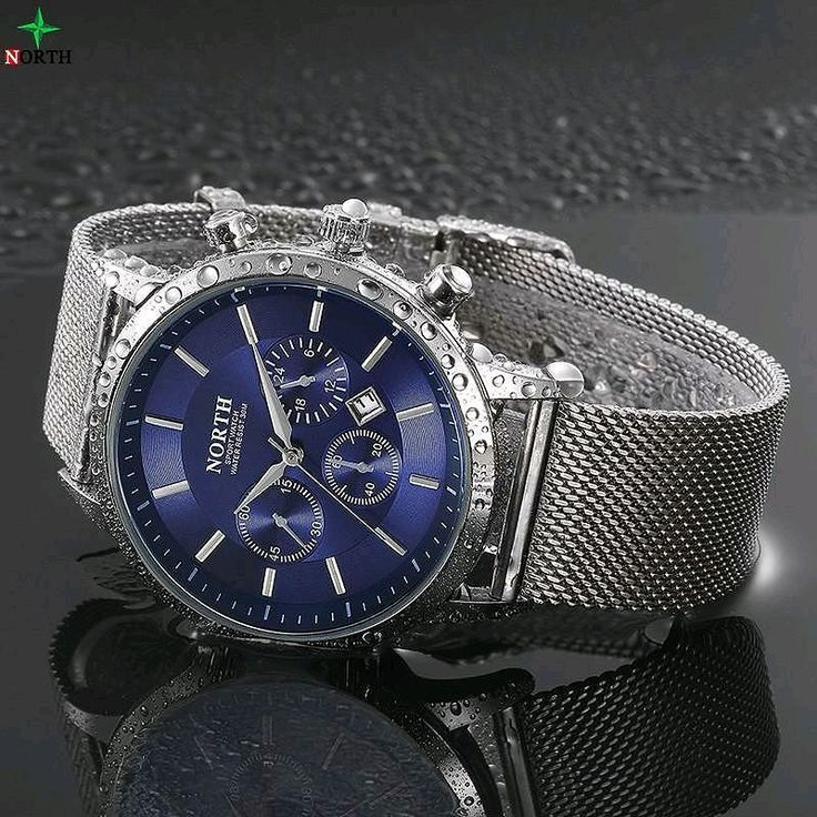 NORTH Men's Waterproof Watch - I like this watch! Shop my store artbymelw.com #watch #watches #mens #mensfashion #elegant #waterproof #blue #swag #artbymelw #silver #onlineshopping #socialenvy #fashion #pretty #outfit #instafashion #stylish #shopping #design #love #sale #photooftheday #instagood #beautiful #style #cute #outfy @outfyinc