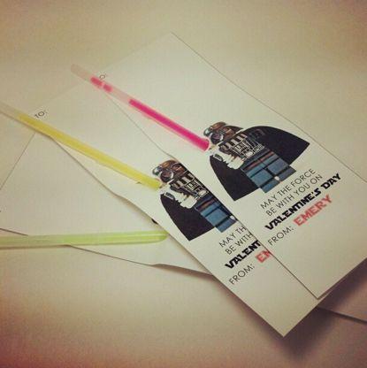 Stamped in His image: Star Wars Valentines & Teacher Treats