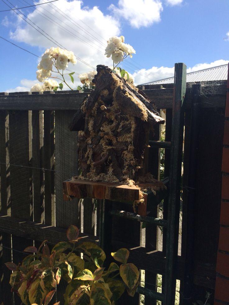 @juliesoal created this bird house