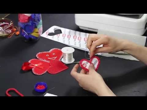 Tutorial Portafoto cuore pyssla ♥ Video Heart pyssla hama beads ♥ DIY ♥ - YouTube