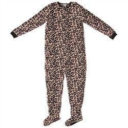 Leopard Footed Pajamas for Women,    #BuyersGuidetoAdultFootedPajamas,    #39520
