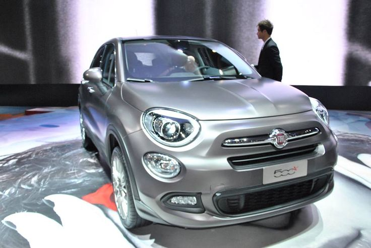 The New Fiat 500x Has Arrived Presented At Paris Motor Show In