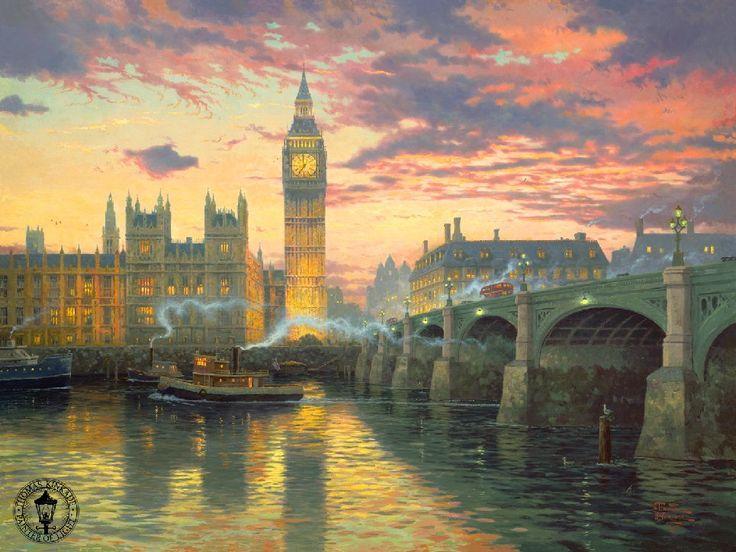 Старый лондон картинки 6