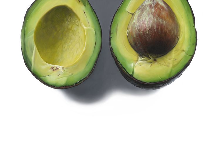 """ART by Erin Rothstein — """"Avocado"""" - Limited Edition Print, Signed"""