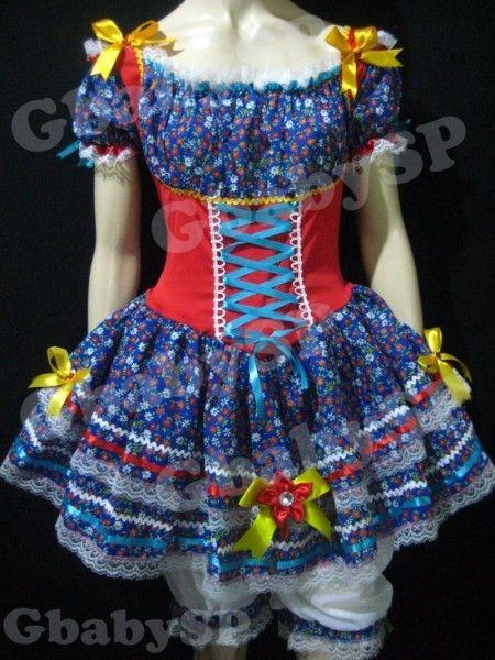 vestidos para festa junina 1
