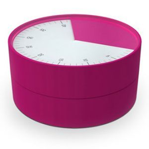 Joseph Joseph Pie 60 Minute Kitchen Timer Pink
